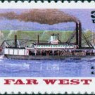 Scott #3093 FAR WEST - RIVERBOATS single stamp denomination: 32¢