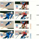 Scott #1798a plate block 1980 WINTER OLYMPIC GAMES 1979 stamp plate block of 20 denomination:15¢