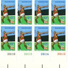 Scott #1790 OLYMPIC GAMES – decathlon - Javelin 1979 plate block of 16 stamps denomination: 10¢