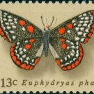 Scott #1713 Butterflies 1977 single stamp denomination: 13¢