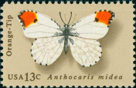 Scott #1715 Butterflies 1977 single stamp denomination: 13¢