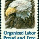 Scott #1831 ORGANIZED LABOR 1980 single stamp denomination: 15¢