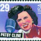 Scott #2772 PATSY CLINE - American Music Series 1993 single stamp denomination: 29¢