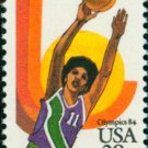 Scott # C103 1984 SUMMER OLYMPICS single airmail stamp denomination: 28¢