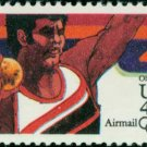 Scott # C105 1984 SUMMER OLYMPICS single airmail stamp denomination: 40¢