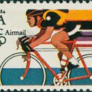 Scott # C110 1984 SUMMER OLYMPICS single airmail stamp denomination: 35¢