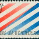 Scott #2003 NETHERLANDS - USA 1982