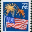 Scott #2276 FLAG AND FIREWORKS 1987