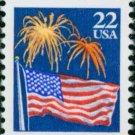 Scott #2276 FLAG AND FIREWORKS 1987