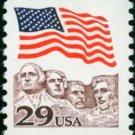 Scott #2523 FLAG OVER MT. RUSHMORE 1982