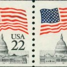 Scott #2115 FLAG OVER CAPITAL 1985