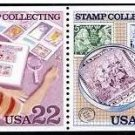 Scott #2201a STAMP COLLECTING booklet pane/4