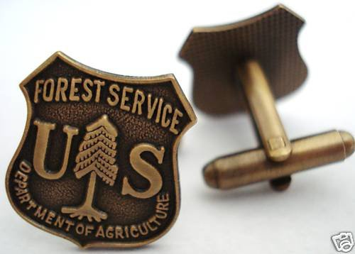 US Forest Service Ranger Dept of Agriculture Cuff Links