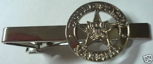 US MARSHALS Star Police Mini Badge Replica Tie Bar Clip