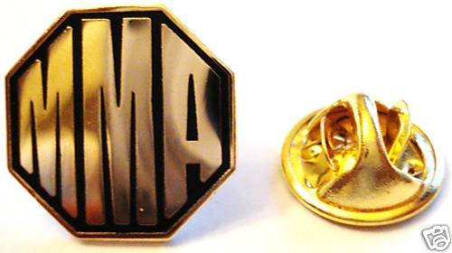 OCTAGON Ultimate Fighter MMA UFC DVD Lapel PIN TIE TACK