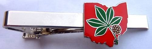 The Ohio State University OSU Buckeyes Tie Bar Clip