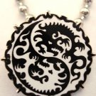 DRAGON YIN YANG MMA UFC DVD PRIDE PENDANT NECKLACE