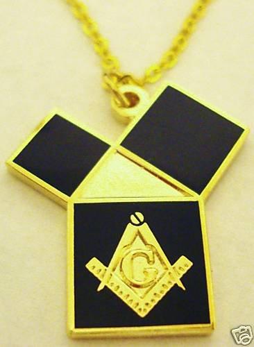 EUCLIDS 47 Problem Pythagorean Theorem Masonic PENDANT