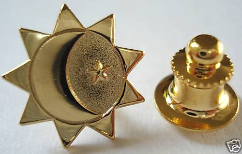 THREE DEGREES OF GLORY LDS Mormon LAPEL PIN TIE TACK