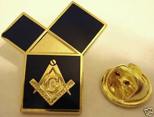 EUCLIDS 47th Problem Pythagorean Theorem Masonic PIN