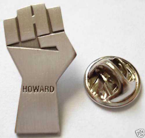 Howard Stern TV News Fist Sirius Satellite XM Radio Pin
