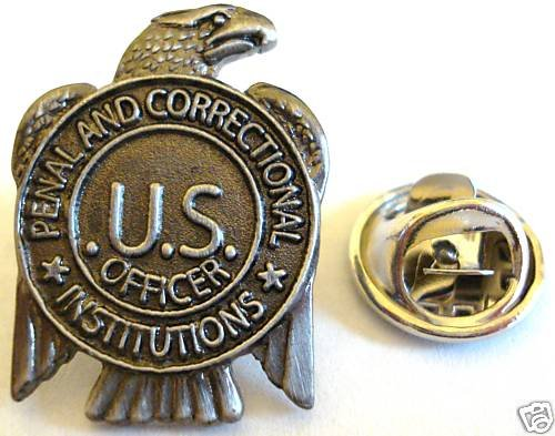 PRISON GUARD Jail Correctional Officer Mini Badge PIN
