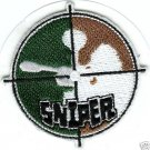Paintball Logo Shoulder CAMO SNIPER Sticker PATCH