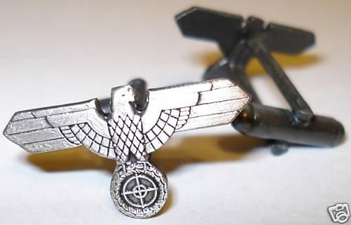 German WW2 Sniper Scope Eagle Army Cufflinks Cuff Links