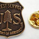 US Forest Service USDA Dept of Agriculture Lapel Pin