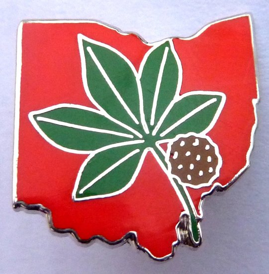 The Ohio State University OSU Buckeyes Pin Tie Hat Tac