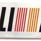"RALLIART 5.25"" x 1.5"" Aluminum Emblem"