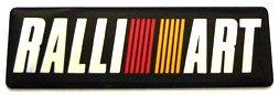 "RALLIART 2.5"" x 0.75"" Aluminum Emblem"
