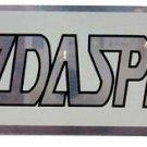 "Mazad Speed 5.25"" x 1.5"" Aluminum Emblem"