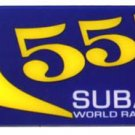 "Subraru 555 4"" x 1.75"" Plastic Emblem"
