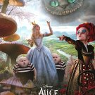 Alice in Wonderland Version A Double Sided Original Movie Poster 27 x40