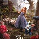 Alice in Wonderland Version B Double Sided Original Movie Poster 27 x40