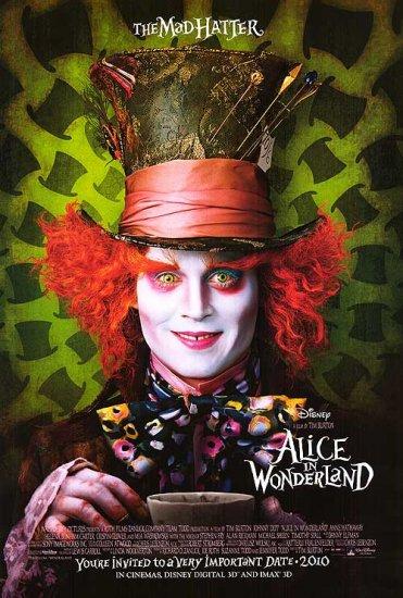 Alice in Wonderland Version C Double Sided Original Movie Poster 27 x40