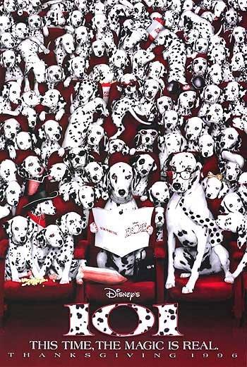 101 Dalmatians Adv Double Sided Original Movie Poster 27 x40