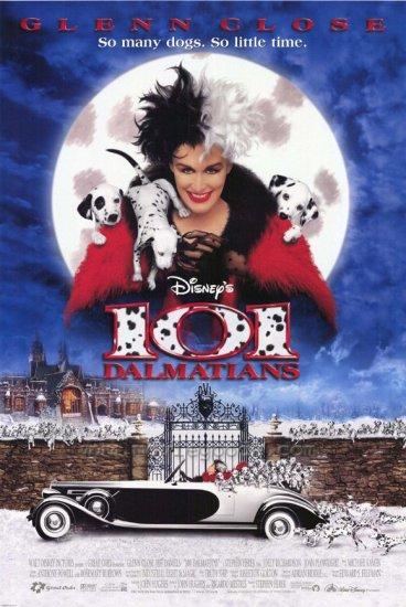 101 Dalmatians Regular Double Sided Original Movie Poster 27 x40