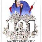 101 Dalmatians Disney Classics Double Sided Original Movie Poster 27 x40