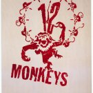 12 Monkeys Advance Double Sided Movie Poster 27x40 Original Rare