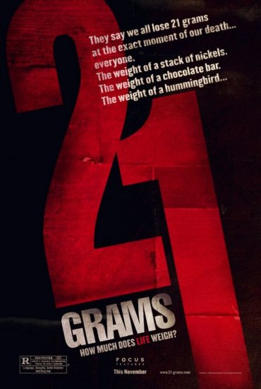 21 Grams Advance 27x40 Original Movie Poster Single Sided