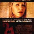 21 Grams Naomi Watts 27x40 Original Movie Poster Single Sided