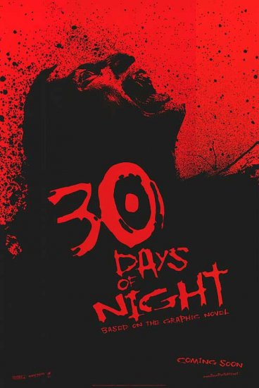 30 Days of Nights 27x40 Orig Movie Poster Double Sided
