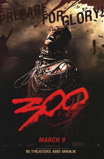 300 (Xerxes) 24 x36 Orig Movie Poster Single Sided