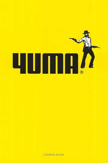 3:10 To Yuma 1ST Adv Movie Poster Original 27 x40 Double Side