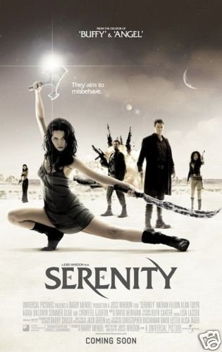 Serenity International Original Movie Poster Double Sided 27X40