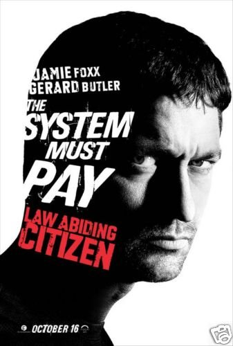 Law Abiding Citizen (Butler) Original Movie Poster Single Sided 27x40