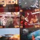 "Return of the Jedi 14""x20"" cards Orig 6 cards per set"