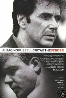 Insider Original Movie Poster Double Sided 27x40